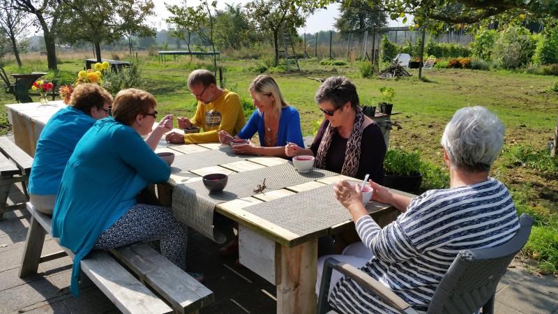 Close 2 nature opleiding tot encaustic art coach close 2 for Opleiding tuin