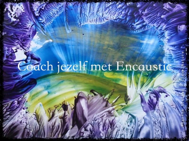 Coach jezelf met Encaustic