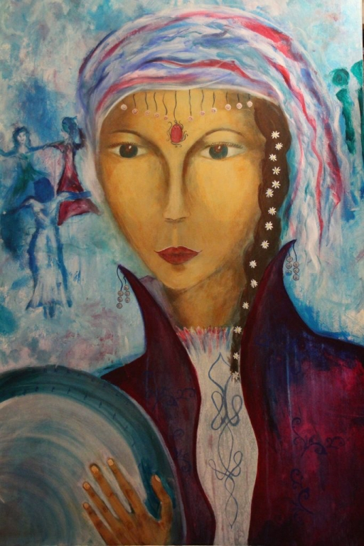 Drum Woman