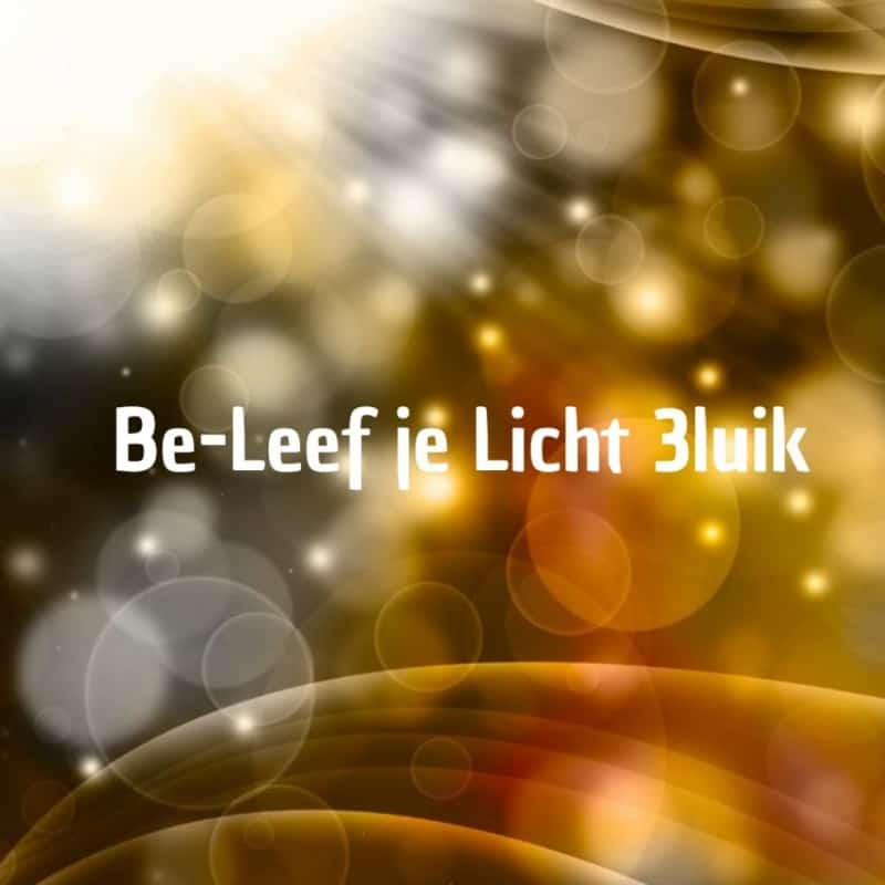 Be-Leef je licht 3 luik