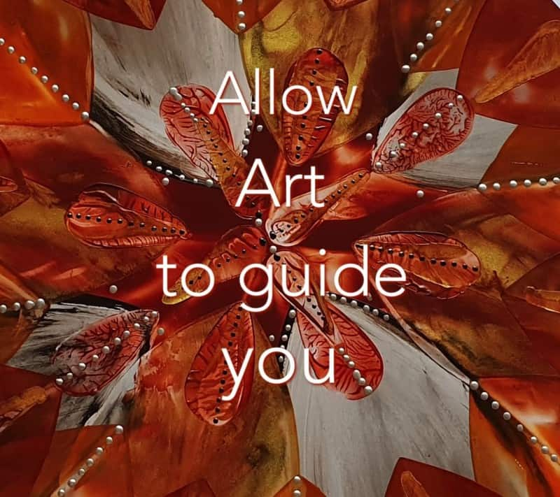 Allow Art to Guide you
